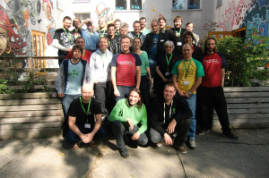 Group Picture of FSFE's first European Coordinators Meeting