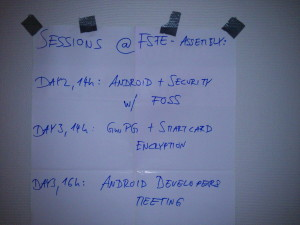 Our sessions plan