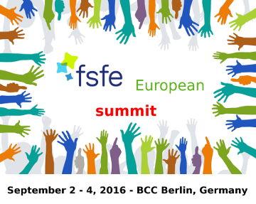 FSFEsummit 2016